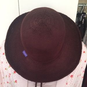 Wallaroo Adjustable Chocolate Brown Sun Hat
